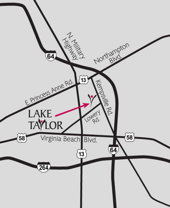 Directions To Lake Taylor Hospital