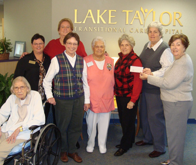 Ocean View Ladies Golf Associations Donates Funds to the Lake Taylor Foundation