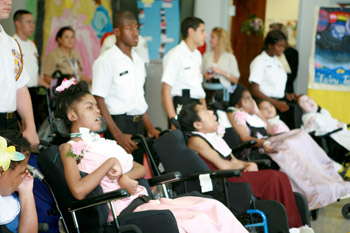 """Lake Taylor holds first ever """"Fairytale Dance"""" for their long-term pediatric patients."""