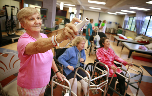 "Lake Taylor's rehab department wins award for being one of the first to ""Wiihabilitate"""