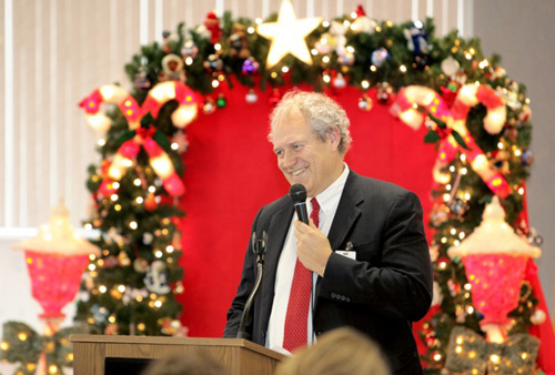 Lake Taylor welcomes Norfolk officials to annual holiday breakfast