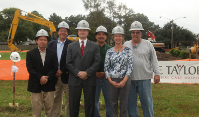 Lake Taylor Transitional Care Hospital Breaks Ground On Modernization Project