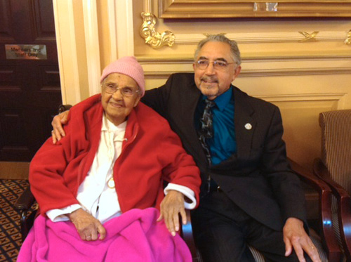 Norfolk resident, 109, charms Va. House of Delegates