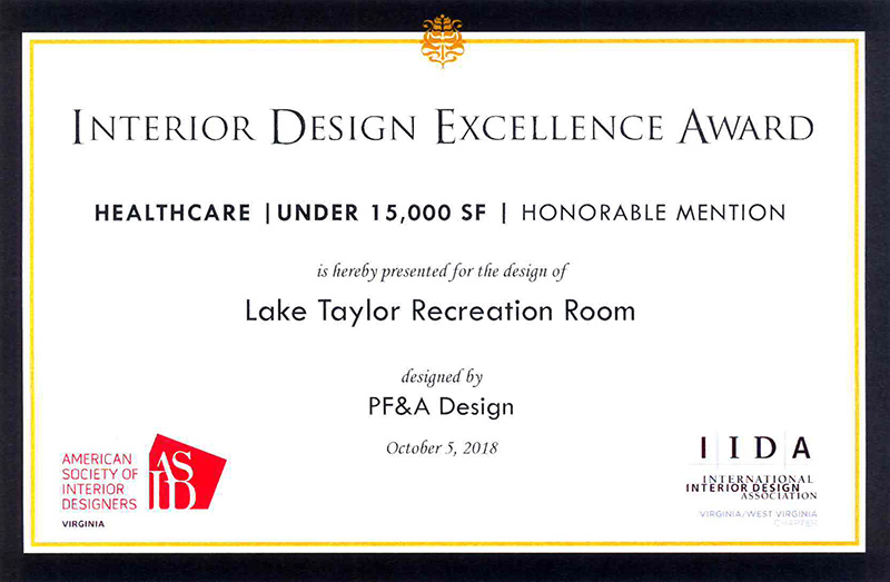 2018 IIDA for Interior Design Awards