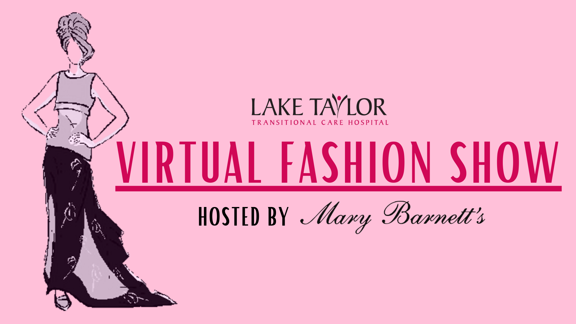 """THE SHOW WENT ON!"" The 24th Annual Lake Taylor Auxiliary Fashion Show Goes from In-person to Virtual; Live-streamed on Facebook on Sept. 26"